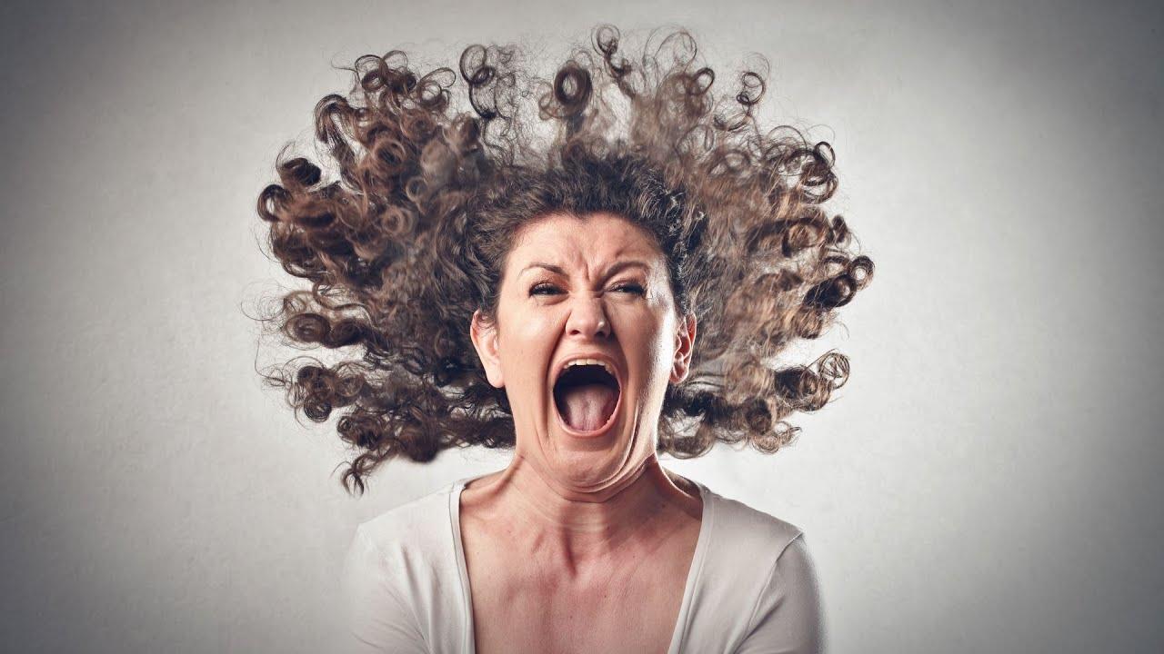 Русская женщина кричит 12 фотография