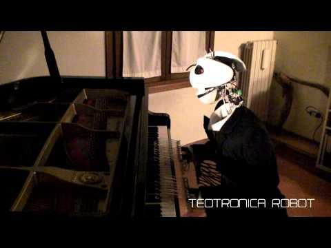 Teotronico, un robot estilo Tim Burton que canta y toca el piano