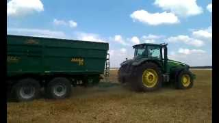 John Deere 8430 - 23 ton of wheat