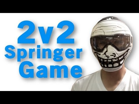 Airsoft GI - 2v2 Springer Game @ Insight Interactive!