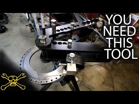 You Need This Tool - Episode 38   Roll Bar Tube Bender