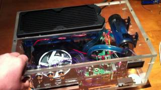 Liquid cooled Custom xbox 360