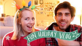 SNEAKY HOLIDAY SHENANIGANS || A Gift Giving Vlog(mas)