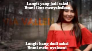 Via Vallen   Edan Turun Lirik + Translate Indonesia   YouTube