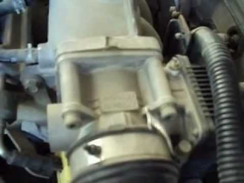 Conozca El Funcionamiento Cuerpo Aceleracion Nissan Youtube