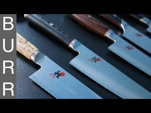 Download Lagu Miyabi Mizu vs Artisan vs Birchwood vs Fusion Morimoto Gyuto Chef Knives Unbox MP3 Free