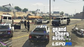 GTA 5 PC MODS - LSPDFR - POLICE SIMULATOR - EP 2 (NO COMMENTARY)