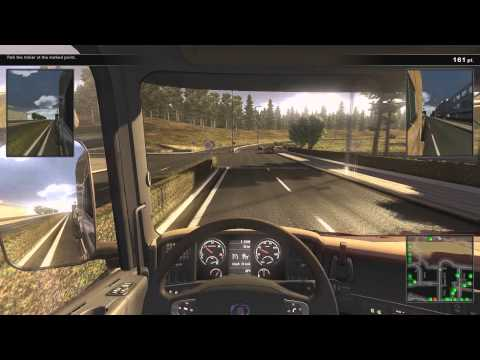 Scania Truck Driving Air Brake Sound Mod + Gameplay [1080p]