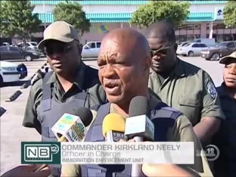 Haiti Immigration : Rapatriement d'illégaux haitiens aux Bahamas.