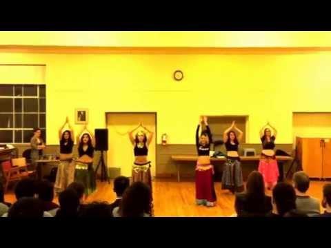 Utdc belly dance performance class - sharky
