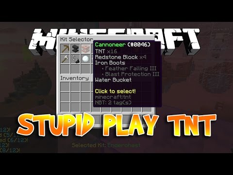 Oops Zeros Minecraft SkyWars Fail Moments - STUPID FLY WITH TNT