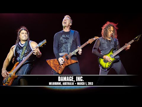 Metallica: Damage, Inc. (live - Melbourne, Australia - 2013) video