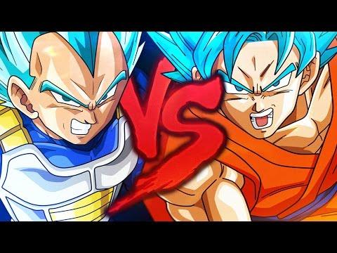 Goku VS. Vegeta 2   Duelo de Titãs