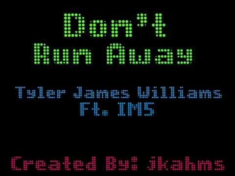 Don't Run Away (Tyler James Williams ft. IM5) Lyric Video