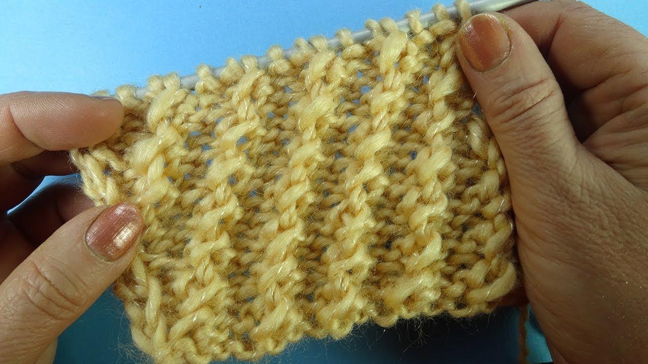 Видеоурок вязание на спицах 32