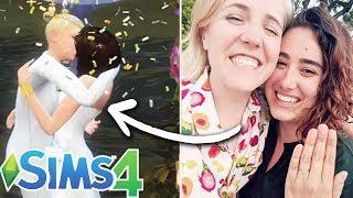 Ella & Hannah Hart Design Their Dream Wedding In The Sims 4
