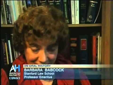 Barbara Babcock: An Oral History (Part 5)