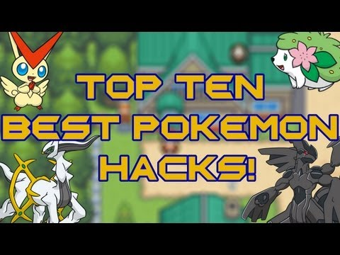 TOP TEN BEST POKEMON ROM HACKS 2013