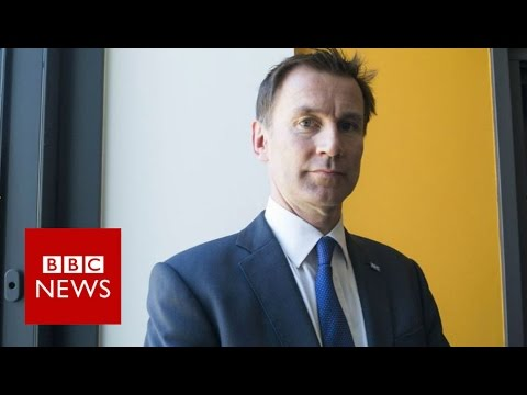 Jeremy Hunt: 'This is likely to be my last big job in politics' - BBC News