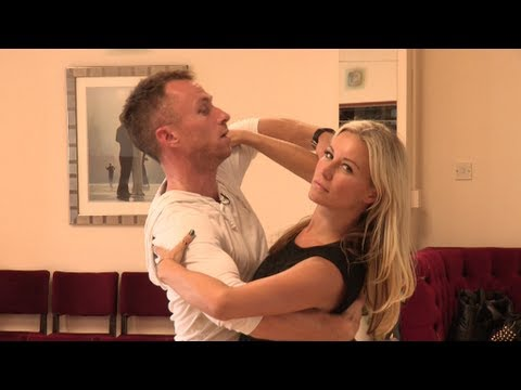 Denise Van Outen & James Jordan's first rehearsal - Strictly Come Dancing - BBC One