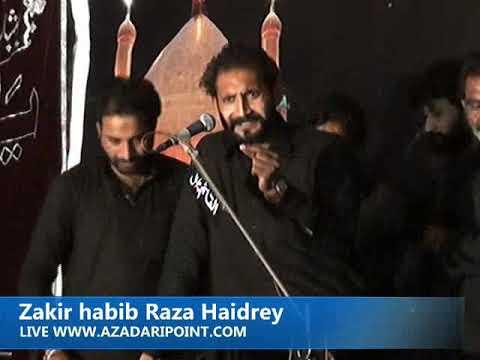 Zakir Habib Raza Haidrey majlis Aza 25 Rajab 2019 Gharrera Gujrat