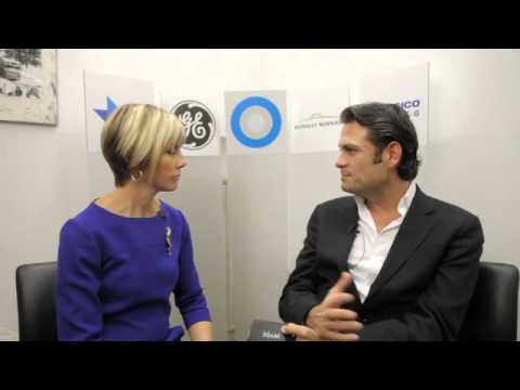 Wyse Technology's President and CEO Tarkan Maner speaks with Edie Lush at Hub Davos
