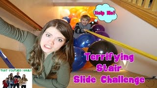 Slides And Balloons OTEV Style (Big Brother) / That YouTub3 Family | Family Channel