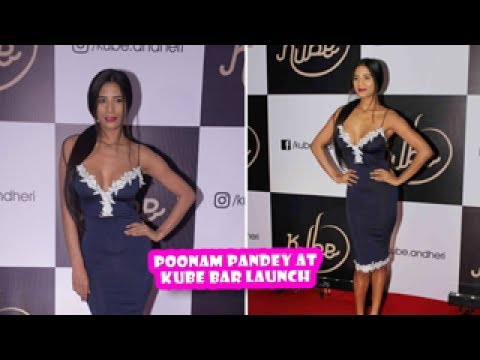 Hot Poonam Pandey At Kube Bar Launch