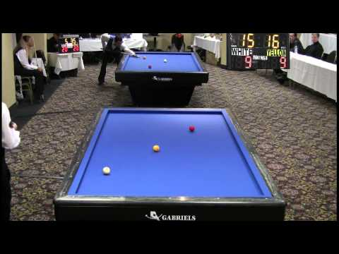 3-Cushion Billiards Mazin Shooni vs Piedro Piedrabuena