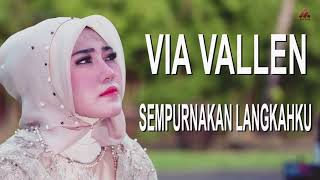 Via Vallen - Sempurnakan Langkahku (Official Lyric Video)