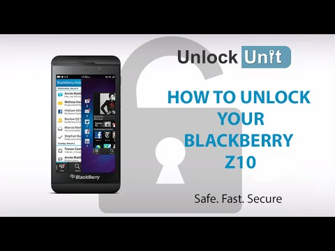 UNLOCK BLACKBERRY Z10 - HOW TO UNLOCK BLACKBERRY Z10