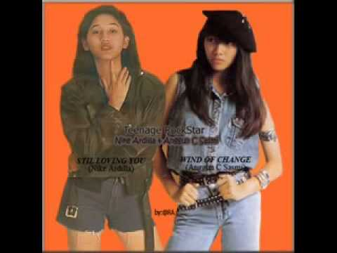 Nike Ardilla feat Anggun C Sasmi ~ Wind Of Change