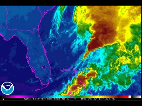 Subtropical Storm Beryl threatens Memorial Day washout - Worldnews.