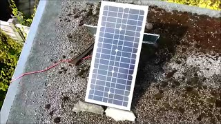 Cheap Ebay 20w 20 Watt Solar Panel REAL OUTPUT UK