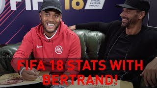 Discussing Ryan Bertrand's FIFA 18 stats