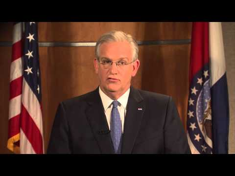 Gov. Nixon addresses situation in Ferguson, Mo.