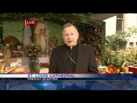 Archbishop Explains Altar's History