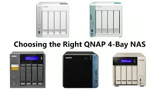 Choosing the Right QNAP 4-Bay NAS for 2017 - TS-453A, TS-453B, TVS-473, TS-451A and TS-431P