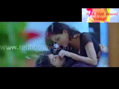 Really Hot Black Saree Navel Kissing And Pressing video