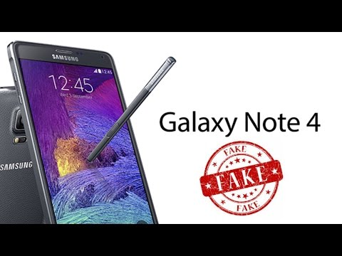 How to Spot a FAKE Galaxy Note 4 - I was scammed!