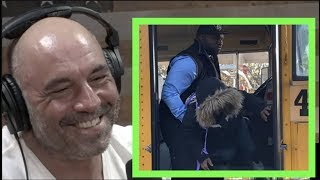 "Joe Rogan Reacts to the ""Angry Bus Driver""  Video"