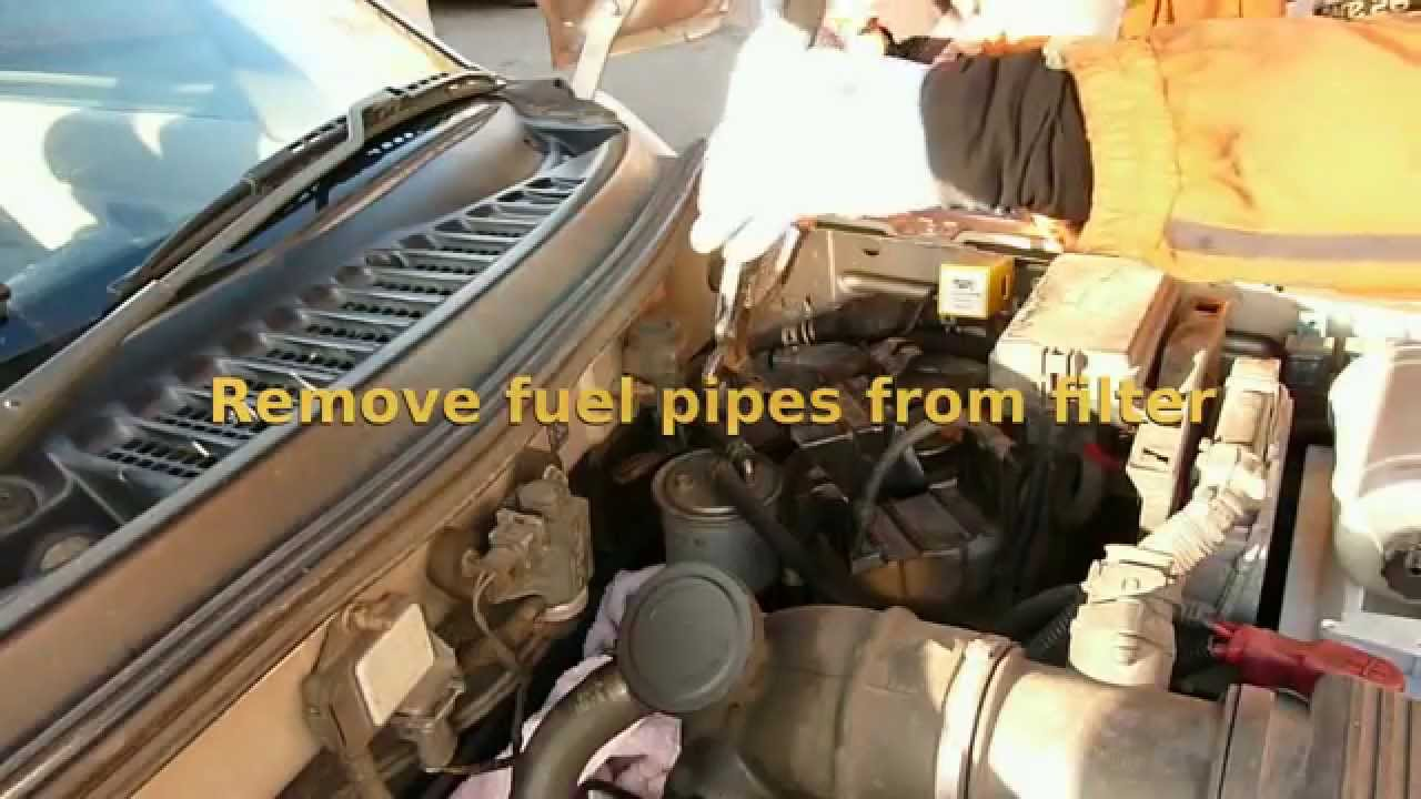 6 0 Fuel Filter Replacement Auto Electrical Wiring Diagram Toyota Previa Location Freelander 2 Diesel Xedi