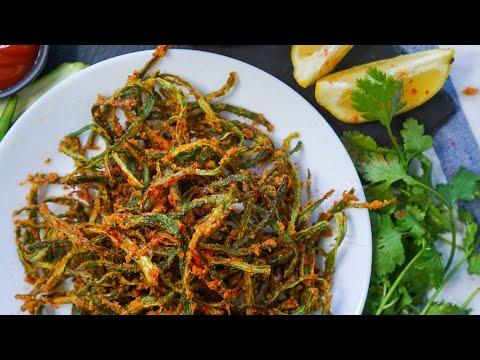 Kurkuri Bhindi Recipe | Crispy Okra Fry | Snack Recipes | Hungry for Goodies
