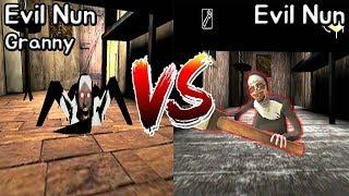 Evil Nun Granny vs Evil Nun    Horror Game - 미친 그래니 수녀 vs 미친수녀 배틀