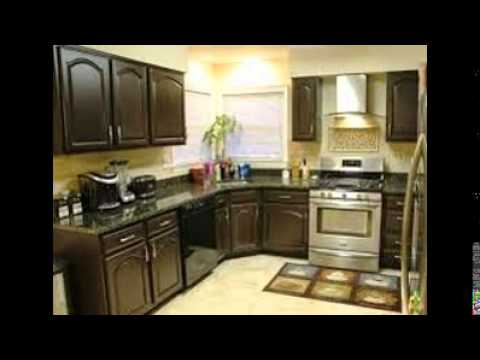 Paint kitchen cabinets youtube for 1990 kitchen cabinets