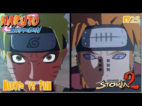 Naruto Shippuden: Naruto Vs Pain (ultimate Ninja Storm 2 Ep 25) video