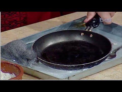 افضل طرق  فعالة لتنظيف أواني الطهي #نونا من برنامج #البلدى_يوكل #فوود
