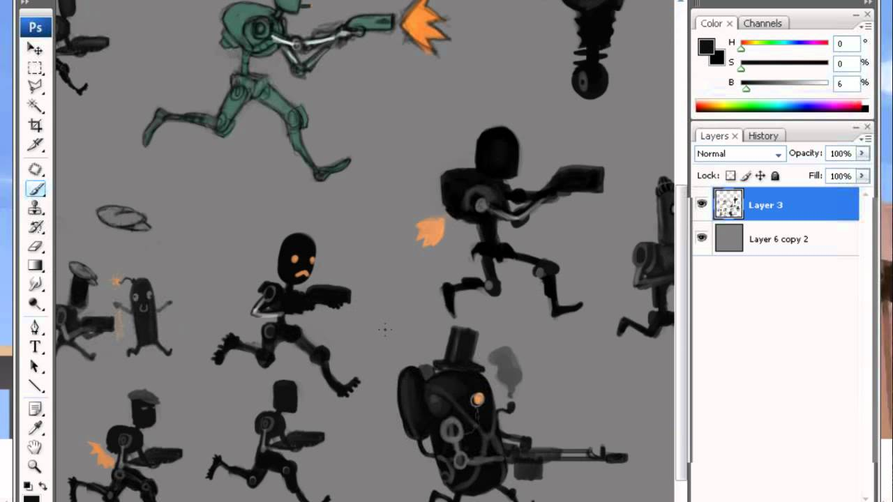 Concept Art Tutorial Character Character Concept Art 2d