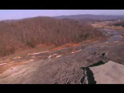 Aerial Footage of Retaining Wall Failure (Footage from TVA website)
