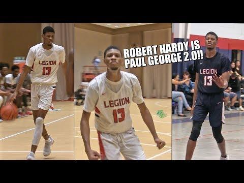 Robert Hardy Is The PAUL GEORGE OF HIGH SCHOOL!! Full Junior Season Highlights